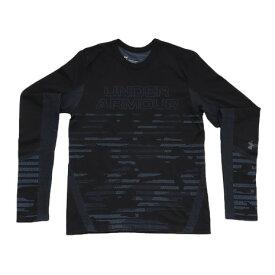 アンダーアーマー(UNDER ARMOUR) ジュニア シームレス ロングスリーブTシャツ #1343391 BLK/WIR AT (Jr)
