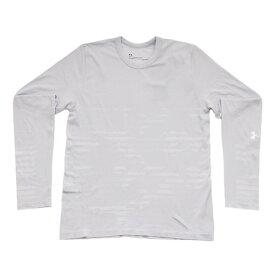 アンダーアーマー(UNDER ARMOUR)ジュニア シームレス ロングスリーブTシャツ #1343391 MGA/WHT AT (Jr)