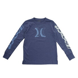 【12月5日24h限定エントリーでP10倍〜】ハーレー(HURLEY) STIPPLE 長袖Tシャツ 983708-C1X オンライン価格 (キッズ)