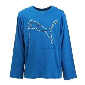 プーマ(PUMA) ACTIVE SPORTS 長袖Tシャツ 846500 63 BLU (キッズ)
