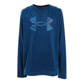 アンダーアーマー(UNDER ARMOUR) UAテック ロゴ フィル 長袖Tシャツ 1357601 GRB/ERB AT (キッズ)