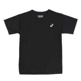【12月5日24h限定エントリーでP10倍〜】アシックス(ASICS) ジュニア ワンポイントTシャツ ブラック EZX929.90 オンライン価格 (キッズ)