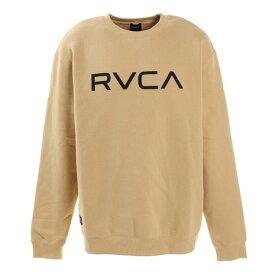 ルーカ(RVCA) BIG RVCA CREW トレーナー BA042004 BEG (メンズ)