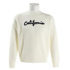 オーシャンパシフィック(Ocean Pacific) カリフォルニアワッフルニット長袖セーター 538100WHT (Men's)