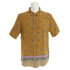 RVCA 【オンライン特価】 LUX PAISLEY ショートスリーブシャツ AJ041128 ABZ (Men's)