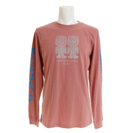 RVCA 【オンライン特価】 BONZER ALIENS ロングスリーブTシャツ AJ041050 CAI (Men's)