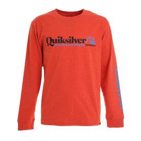 【8/1〜8/2はエントリーでP5倍】クイックシルバー(Quiksilver) CHECK TROPICAL LT 長袖Tシャツ 20FWQLT204058ORG オンライン価格 (メンズ)