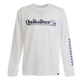 【8/1〜8/2はエントリーでP5倍】クイックシルバー(Quiksilver) CHECK TROPICAL LT 長袖Tシャツ 20FWQLT204058WHT オンライン価格 (メンズ)