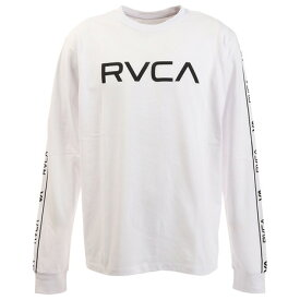 ルーカ(RVCA) Tシャツ メンズ 長袖 TRANSPORTER AJ042077 WHT (メンズ)