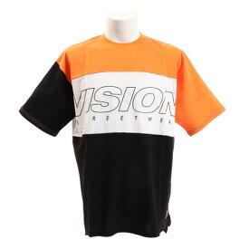 【9月20日24h限定エントリーでP10倍〜】VISION Tシャツ 半袖 切替BIGTシャツ 9523140-23OGR オンライン価格 (Men's)