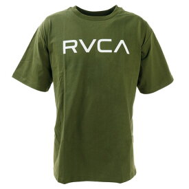 RVCA ビッグロゴ 半袖Tシャツ BA041204 KHA (Men's)