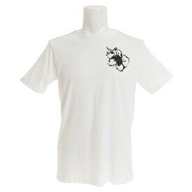 RVCA 【オンライン特価】 SAGE VAUGHN MONO FLOWER Tシャツ AJ041215 ANW (Men's)