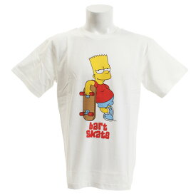 スライド(SLYDE) Tシャツ メンズ 半袖 SIMPSONS1 sl2019050001-WHT (Men's)