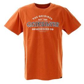 【8/1〜8/2はエントリーでP5倍】クイックシルバー(Quiksilver) Tシャツ 半袖 201TY-06 Tシャツ 20SPQST201605YORG (メンズ)