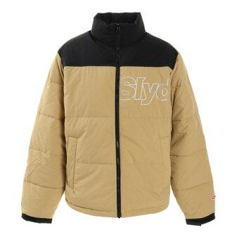 スライド(SLYDE) レフレクター ロゴ ジャケット sl2020aw021-beige (メンズ)