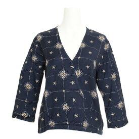 RVCA 【オンライン特価】 DRIFTER ロングスリーブシャツ AJ043100 CBN (Lady's)