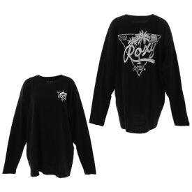 ロキシー(ROXY) 90S ルーズフィット 長袖 Tシャツ RLT214074BLK (レディース)