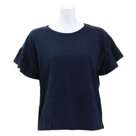 ACPG(ACPG) Tシャツ レディース 半袖 袖フリルカットソー 872PA9CD6373NVY オンライン価格 (Lady's)