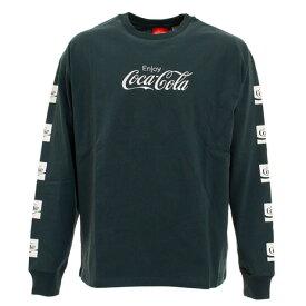 コカコーラ(Coca-Cola) Tシャツ メンズ 長袖 0330123-52 GRN (メンズ)