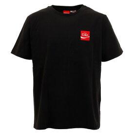 コカコーラ(Coca-Cola) バックロゴプリントTシャツ 0530114-01 BLK 半袖 (メンズ)
