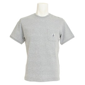 FIDELITY SHADOW BORDER 半袖Tシャツ FD81MP811-GRY (Men's)