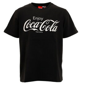コカコーラ(Coca-Cola) ロゴプリントTシャツ 0530115-01 BLK (メンズ)