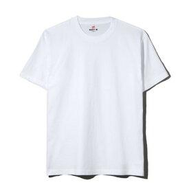 ヘインズ(Hanes) Tシャツ メンズ ビーフィー BEEFY 半袖 クルーネック 白 無地T 定番 長持ち H5180 010 (メンズ)