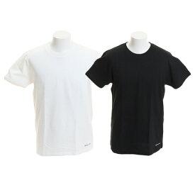 ディーシー・シュー(DC SHOE) 19 2パック Tシャツ 19SU5226J933BKW (Men's)