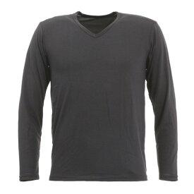 【12月5日24h限定エントリーでP10倍〜】ACPG(ACPG) ヒートクロス あったか薄手長袖Vネックシャツ (Men's)