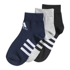 アディダス(adidas) ジュニア アンクルソックス 3足組 GOT21-FM2336 (Jr)