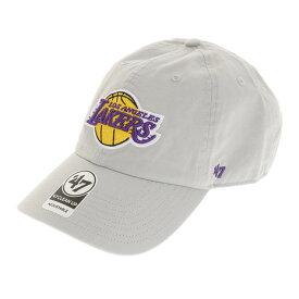 3/30日限定!要エントリーでポイント10倍〜! フォーティーセブン ブランド(47 Brand) Lakers 47 CLEAN UP キャップ K-RGW12GWS-GY (Men's)