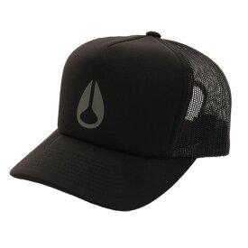 ニクソン(NIXON) LOW TRUCKER HAT ブラックチャコール NC2742017-00 (Men's)