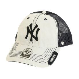 フォーティーセブン ブランド(47 Brand) MLB ニューヨーク ヤンキース キャップ B-HOOCH17GWP-WHH オンライン価格 (Men's)
