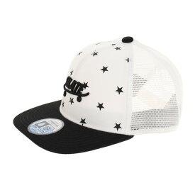 【9/20はエントリーで会員ランク別P10倍】スタンレーインターナショナル(STANLEY INTERNATIONAL) 帽子 キッズ 冷感 キャップ STAR PRINT BB MESH CAP 夏用 熱中症対策 日よけ (キッズ)