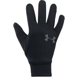 アンダーアーマー(UNDER ARMOUR) コールドギア 手袋 グローブ アーマーライナー2.0 1318546 BLK/GPH タッチパネル対応 防寒用 (メンズ)