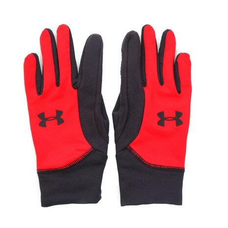 アンダーアーマー(UNDER ARMOUR) ジュニア Youth Armour Liner 2.0 手袋 #1318579 RED/BLK/BLK ACC (Jr)