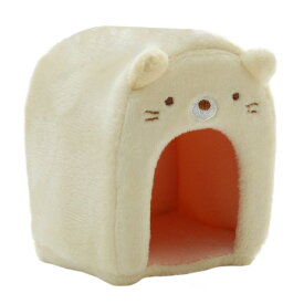 すみっコぐらし(Sumikkogurashi) てのりぬいぐるみ 小さなお家 ネコハウス MX23301 (メンズ、レディース、キッズ)