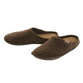 クロックス(crocs) クラシック スリッパ(Classic Slipper) BRN 203600-23B (Men's、Lady's)