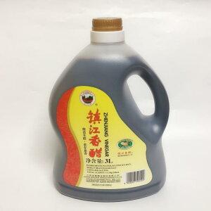 恒順 金山牌鎮江香醋(大瓶) 3L 特級 アミノ酸豊富 業務用 冷凍食品と同梱不可