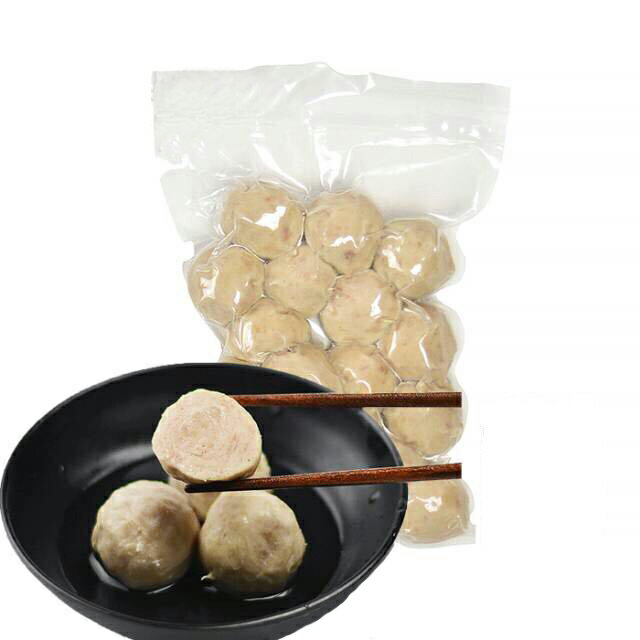 台湾豚肉貢丸(ポークミートボール) 火鍋具材 中華料理 肉団子 台湾産 300g
