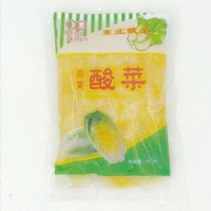 双葉東北酸菜 常温発送 漬物 白菜漬け 中国東北お土産 本場の味 中華食材 500g