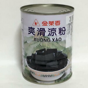 金莱香24缶セット 爽滑涼粉 センソウゼリー 台湾デザート 台湾人気商品 缶詰 540g×24