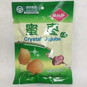 水晶蜜棗 シロップ漬けのナツメ 甘く優しい味わい 中国特産 茶菓子 低糖質みつ付き棗 200g