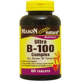 ウルトラ B100コンプレックス 60粒[サプリメント/健康サプリ/サプリ/ビタミン/ビタミンB群/栄養補助/栄養補助食品/アメリカ/タブレット]