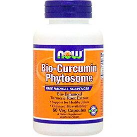 バイオクルクミン フィトサム (ウコンエキス) 60粒 サプリメント 健康サプリ サプリ ウコン now ナウ 栄養補助 栄養補助食品 アメリカ カプセル サプリンクス
