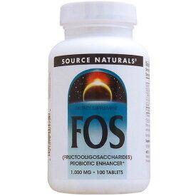 お得サイズ FOS フラクトオリゴ糖 1000mg 100粒 サプリメント 健康サプリ サプリ オリゴ糖 お徳用 栄養補助 栄養補助食品 アメリカ タブレット サプリンクス