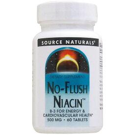ノーフラッシュナイアシン(ビタミンB3) 60粒[サプリメント/健康サプリ/サプリ/ビタミン/ナイアシン/栄養補助/栄養補助食品/アメリカ/タブレット] ビタミンB3・ナイアシン