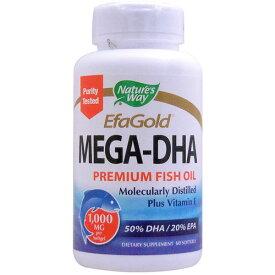メガDHA 1000mg(高含有DHA&EPA+ビタミンE) 60粒 [サプリメント/健康サプリ/サプリ/DHA/EPA/栄養補助/栄養補助食品/アメリカ/国外/ソフトジェル/サプリンクス/通販/楽天]
