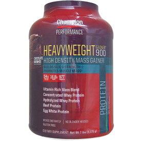 [ 大容量約3.2kg ] ヘビーウェイトゲイナー 900 ※チョコレートブラウニー【weight gainer】 プロテイン