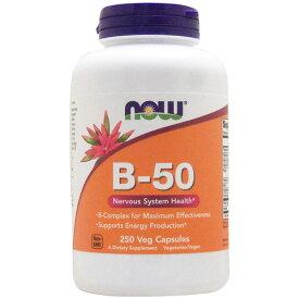 お得サイズ ビタミンB50コンプレックス 250粒 サプリメント 健康サプリ サプリ ビタミン ビタミンB群 お徳用 now ナウ 栄養補助 栄養補助食品 アメリカ カプセル サプリンクス